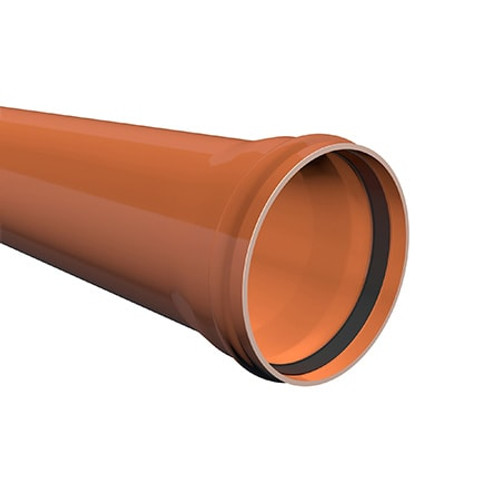 3m x 250mm ULTRA3 Sewer Drainage Pipe .