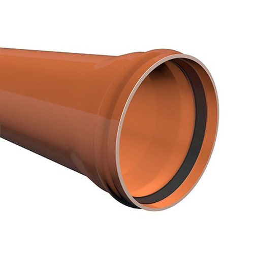 3m x 315mm ULTRA3 Sewer Drainage Pipe.