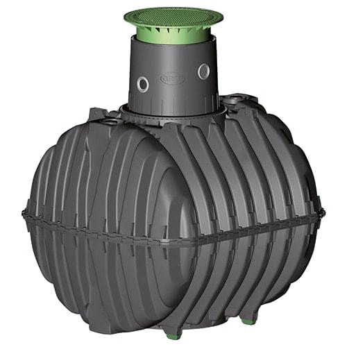 6500 litre 13 person Graf Carat underground septic tank.