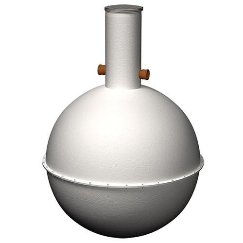 Marsh Euro:Septic Spherical Tank.