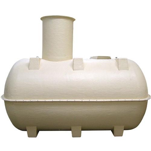 Marsh horizontal septic tank.