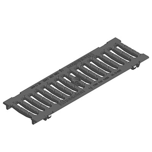 FASERFIX KS100 Slotted Ductile Iron Grating 500mm. C250 loading.