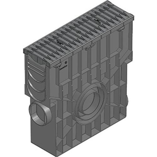 RECYFIX PRO 100 trash box. C250 loading. Black grating.