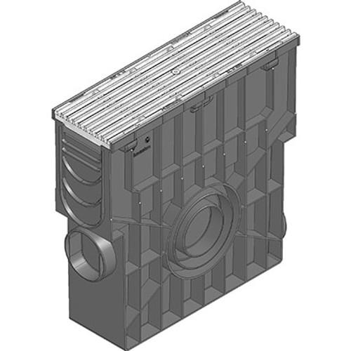 RECYFIX PRO 100 galvanised ductile iron trash box. D400 loading.