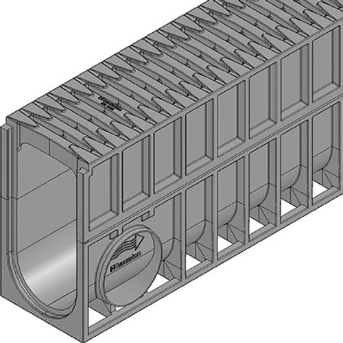 Close up of MONOTEC 100 Type 280 with FIBRETEC grating.
