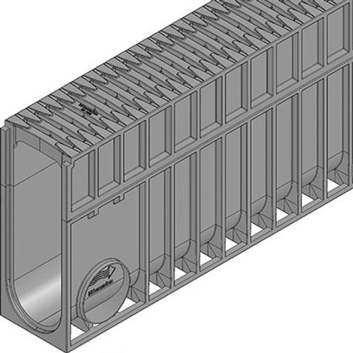 Close up of MONOTEC 100 Type 380 with FIBRETEC grating.
