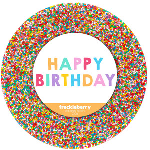Happy Birthday Giant Freckle