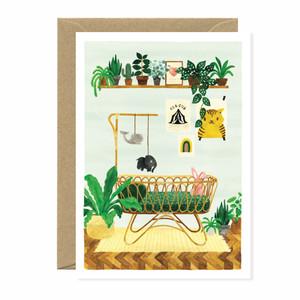 Baby Boy Nursery Card