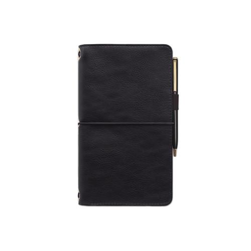 Folio & Notebook - Vegan leather - Black