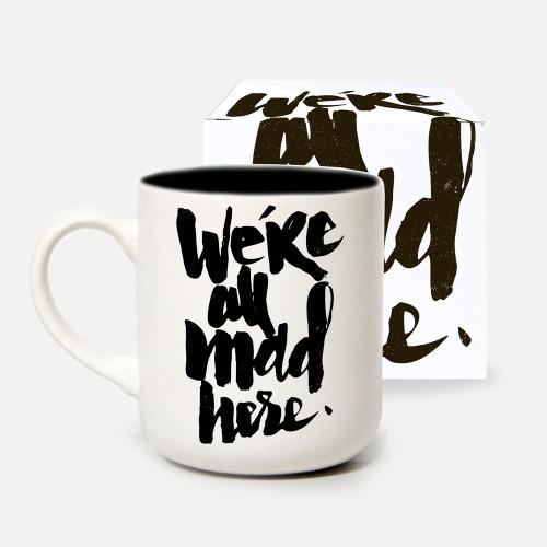 We're All Mad Here Boxed Mug