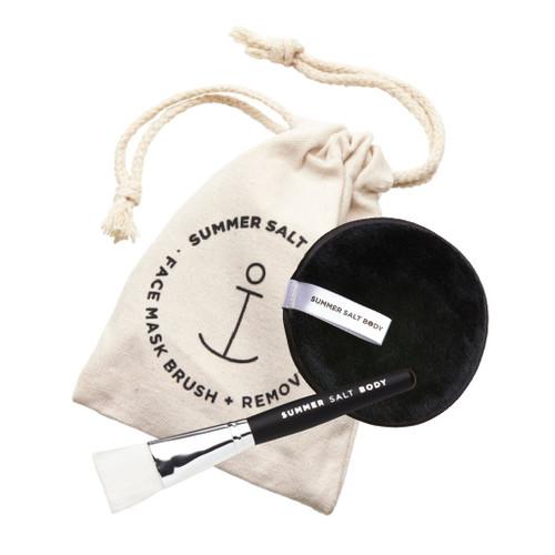 Mask + MakeUp Remover Pad & Application Brush
