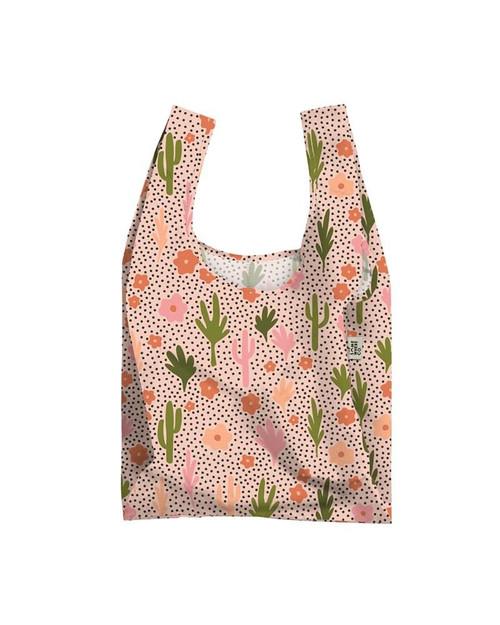 Blooming Cacti Reuseable Shopping Bag