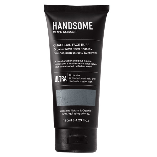 Handsome - Men's Charcoal Face Buff