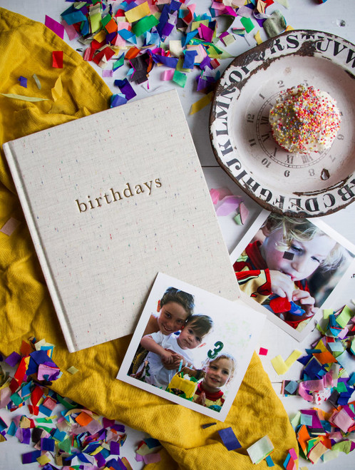 Birthday's - Journal for the best moments from the day
