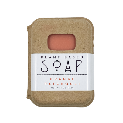 Orange Patchouli Plant Based Soap by Vibey Soap Co. Made in Charleston SC
