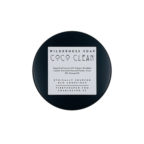 CoCo Clean Coconut Oil Wilderness Soap by Vibey Soap Co.