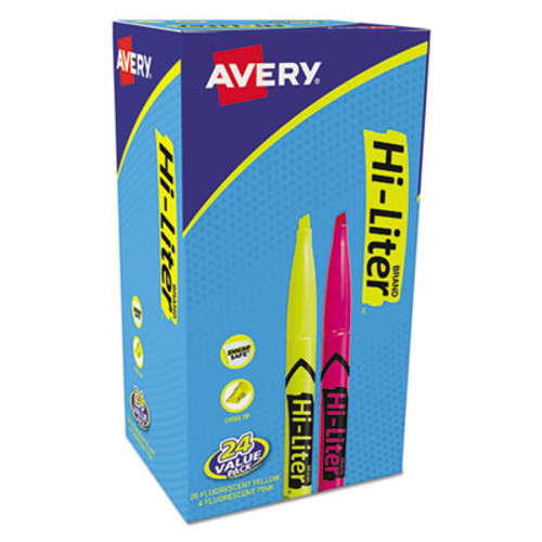 Avery HI-LITER Pen-Style Highlighters - AVE29861