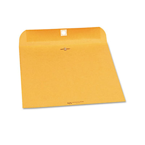 QUA37590 Clasp Envelope, 9 x 12, 28lb, Brown Kraft, 250/Carton