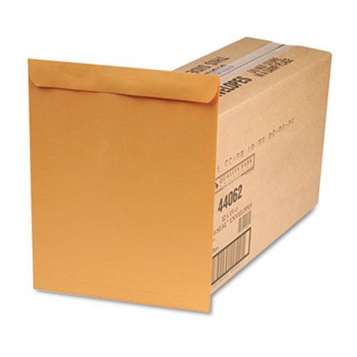 QUA44062 Redi Seal Catalog Envelope, 12 x 15 1/2, Brown Kraft, 250/Box