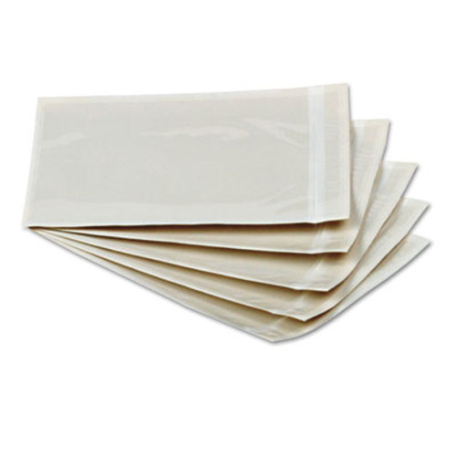 QUA46996 Clear Front Self Adhesive Packing List Envelope, 6 x 4 1/2, 1000/Box