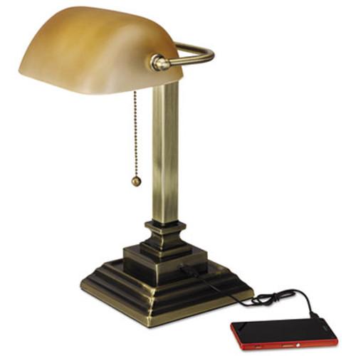 Alera Banker's Lamp - ALELMP517AB