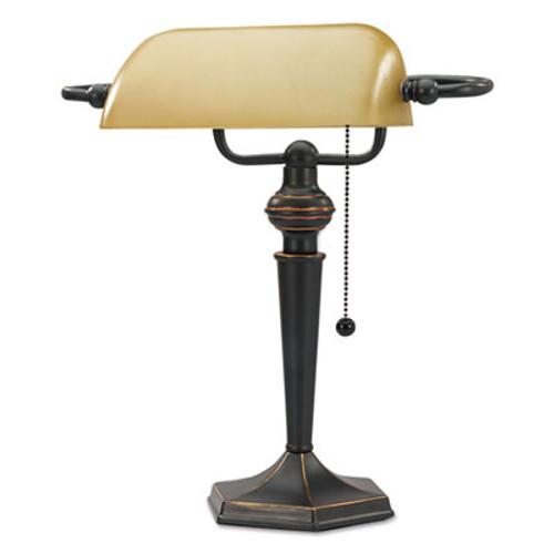 Alera Banker's Lamp - ALELMP537BZ