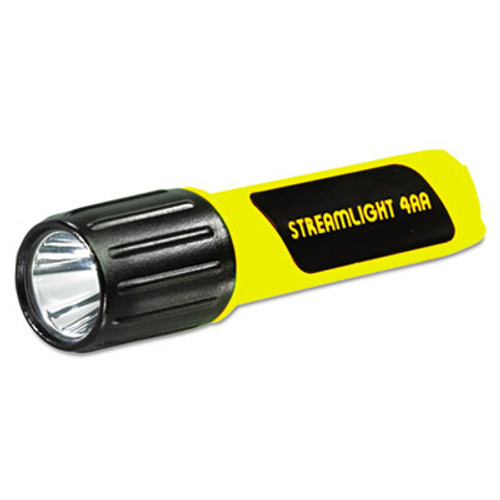 LGT68602 ProPolymer Lux LED Flashlight, 4AA (Included), Yellow