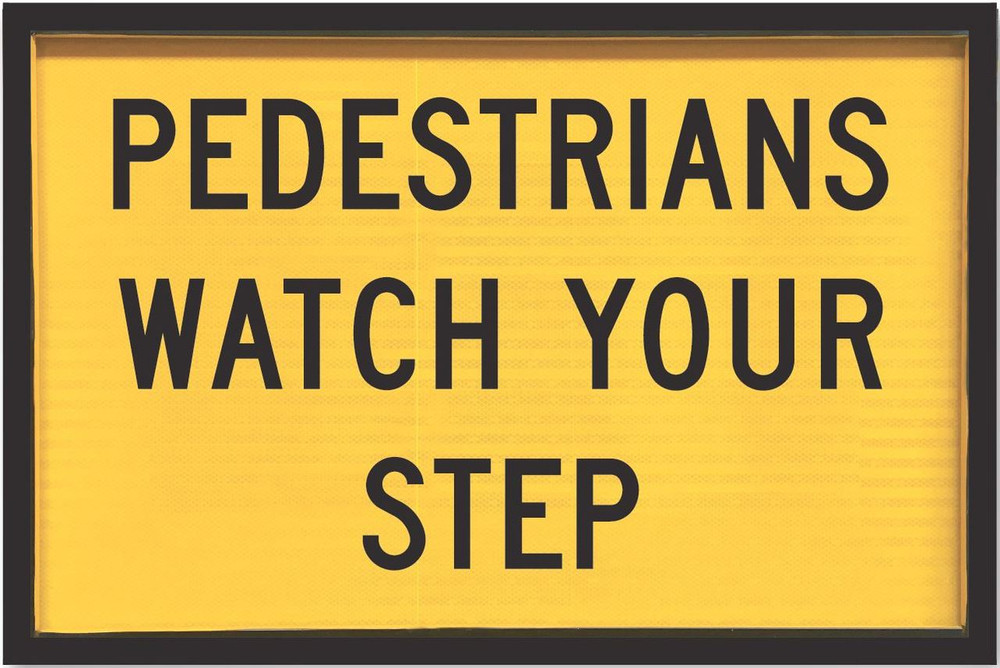 900x600 Box Section PEDESTRIANS WATCH YOUR STEP