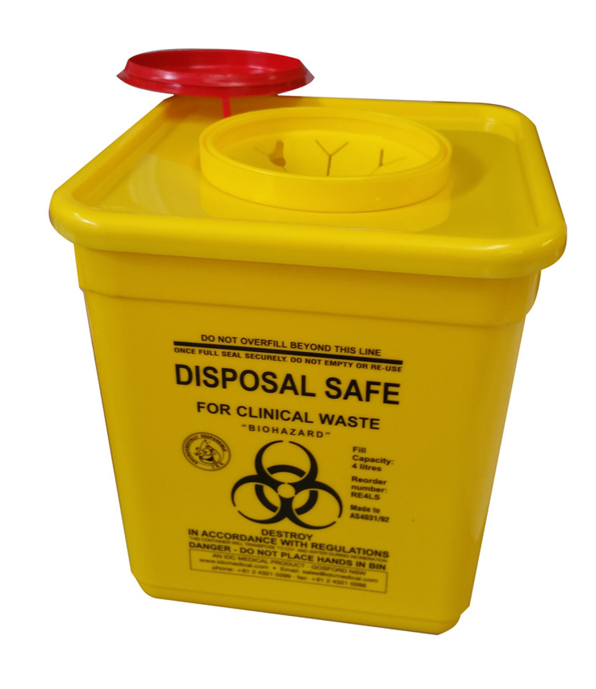 Sharps Container 4.5 Litres
