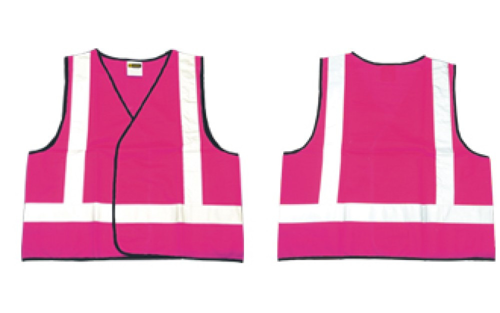 Vest PINK Night Only