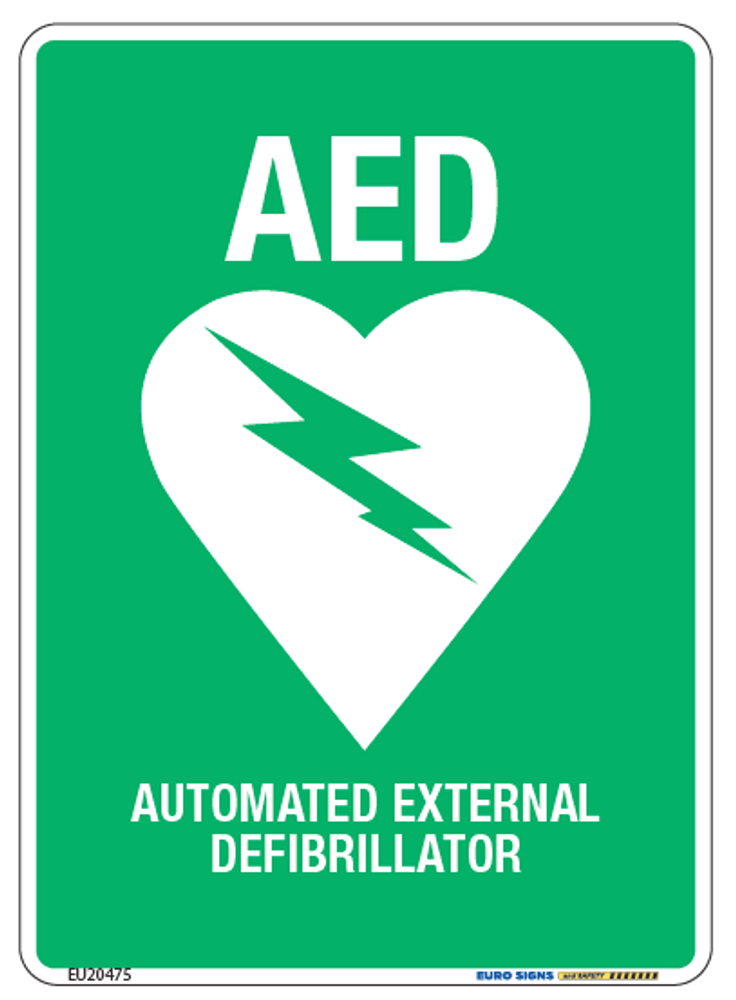 AED 90x125 DECAL