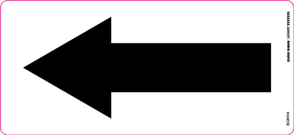 120x55 Arrow Decal