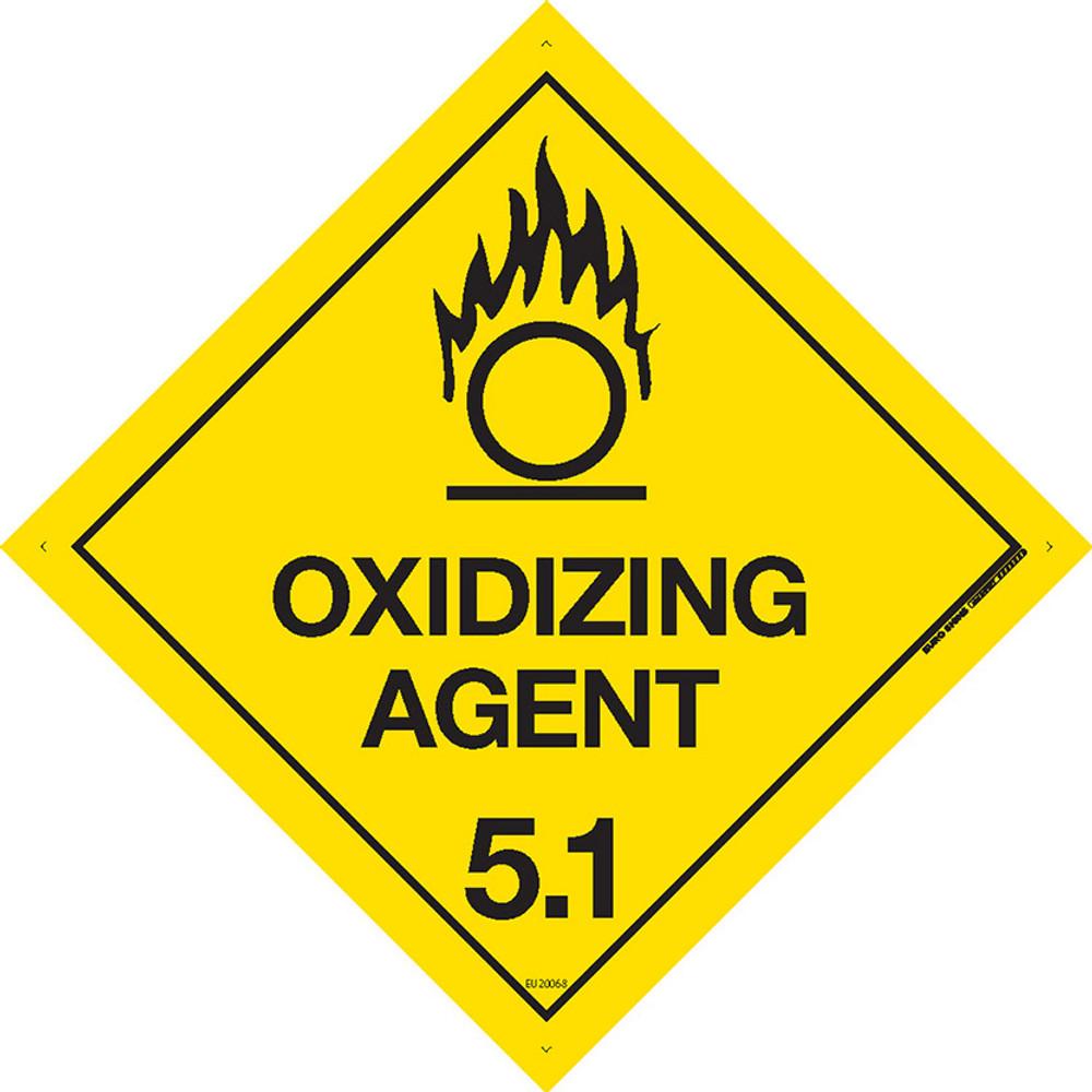 Class Label OXIDIZING AGENT 5.1 270x270 MTL