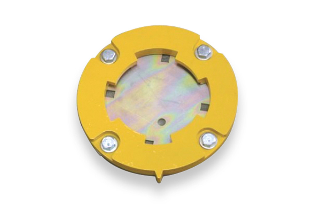 Cam-lok/Tee-lok 90mm diameter RECEIVER SHOE/storage unit (single post)