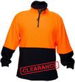 Polar Fleece Jumper ORG/NVY A/Pill A/Static (Large)