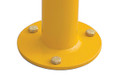ECONOMY 63mm dia. SURFACE mount bollard - Galv & P/Coat