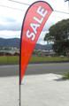 Teardrop flag SALE Medium (flag, pole & bag)