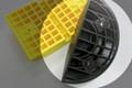 Slo-Mo Speed Hump 180mm radius black END CAPS (PAIR) c/w fixings