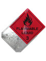 Class Label PLACARD HOLDER Galvanised 250x250