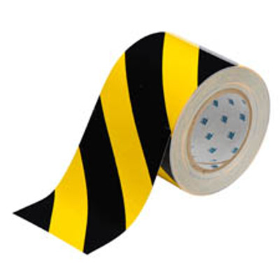 872446 Toughstripe Floor Tape BLK/YLW 76mmx30m