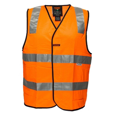 Orange Day Night Safety Vest