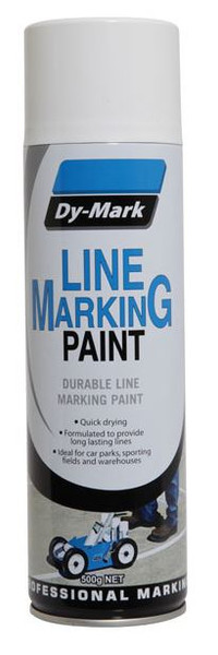 Line Marking Paint DYMARK -WHITE 500g