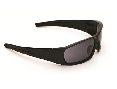 RADIUM Y Series - Matte BLK Frame - Smoke Lens GLASSES