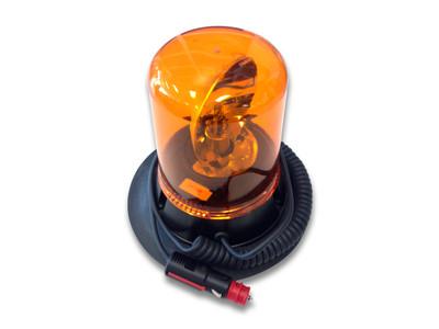 Rotating Beacon VAC/MAG 24 volt AMBER