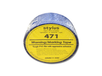 48mm 471 Floor Marking Tape 33mtr roll BLUE