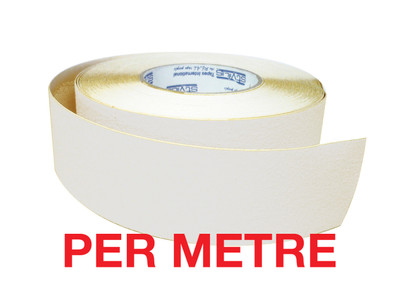50mm Anti-Slip Tape WHITE - PER METRE
