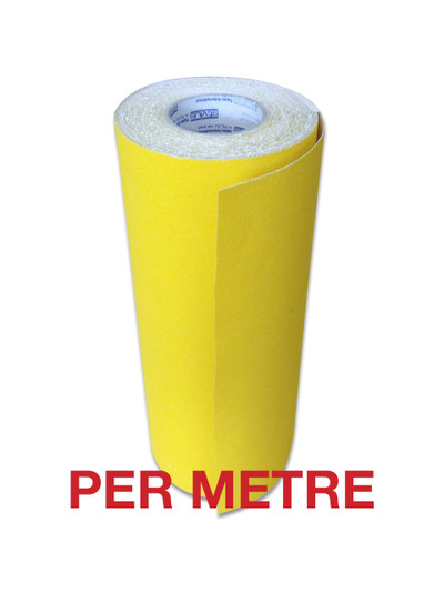 400mm Anti-Slip Tape YELLOW - PER METRE