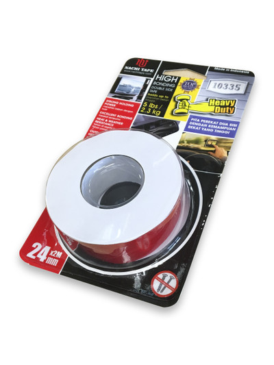 Nachi 4610 C D/Sided Tape CLR 24mmx2mtr ROLL
