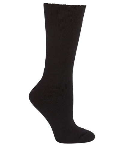 JB's BAMBOO WORK SOCK BLACK-REGULAR