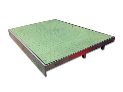 SMC Ecolite 900x600 Side Entry Pit Cover GREEN